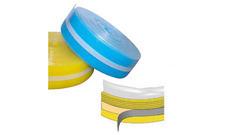 Pás dilatační samolepicí s PE folií 8×150 mm, (25 m/bal)