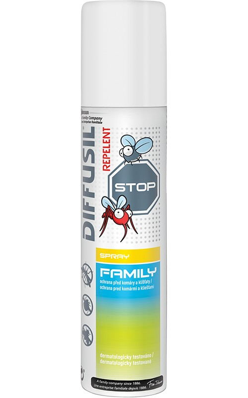 Repelent DIFFUSIL Family 100 ml