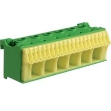 Blok bezšroubové PE svorkovnice, 26 svorek Hager KN26E
