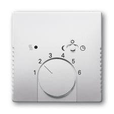 Kryt termostatu s otočným ovladačem Future linear ocelová
