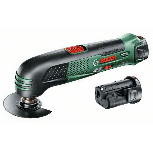 Akumulátorové multifunkční nářadí Bosch PMF 10,8 LI (2x AKU)
