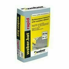 Jednosložkový betonový potěr Weber.bat rapid, 25 kg