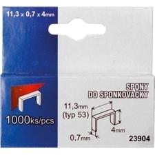 Spony 53 0,7×11,3×12 mm