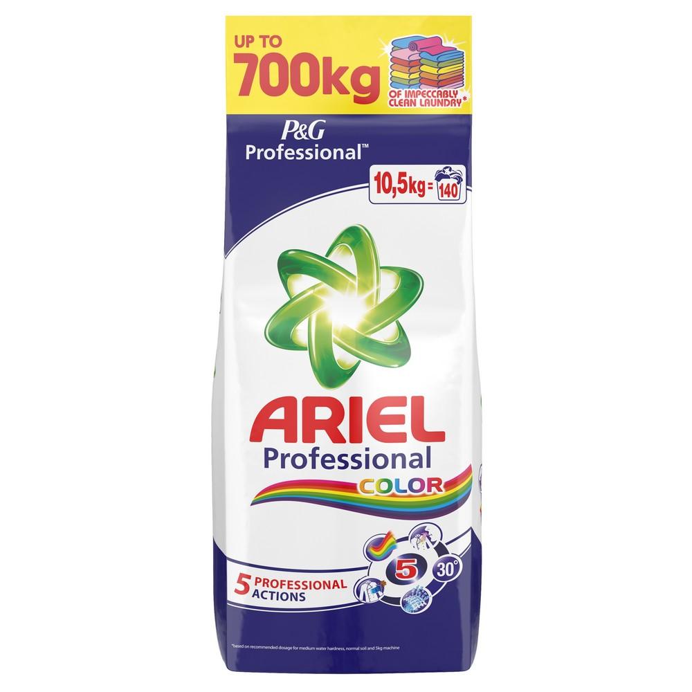 Pofesionální prací prášek ARIEL Color 140 praní / 10,5 kg, cena za ks