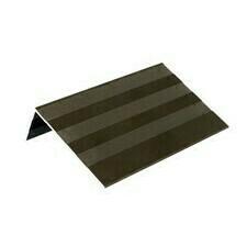 Profil L ALU DŘEVOplus tmavě hnědá 30×52×4000 mm