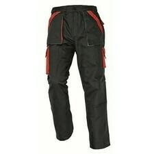 Kalhoty Cerva MAX černá/červená 62