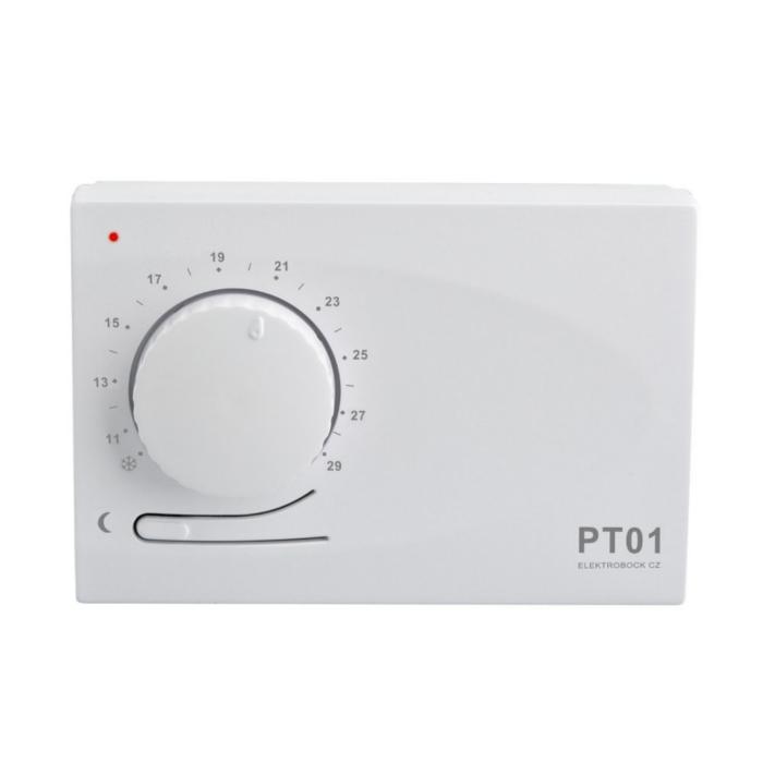 Termostat prostorový PT01