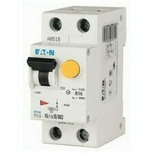 Chránič proudový s jištěním Eaton PFL6-10/1N/B/003 6 kA 2pól 10 A