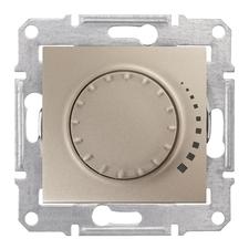 Stmívač otočný/tlačítkový RC 25–325 W Schneider Sedna titan