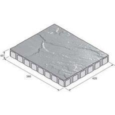 Betonová dlažba sametová BEST ALTEZO, colormix Briliant, INFRA, výška 60 mm