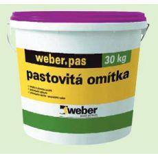 Rýhovaná omítka Weber.pas aquaBalance regulující vlhkost na fasádě 2,0mm, bezpříp.odstín