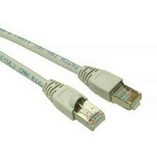 Kabel Patch CAT5E SFTP 1 m, C5E-315GY-1MB