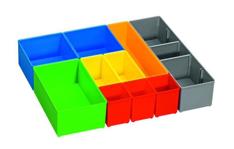 10dílná sada pořadačů pro BOSCH i-BOXX 72 Professional