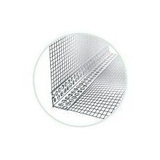 Rohový profil s tkaninou kombi LKS, hliníková, šířka tkaniny 100 mm, délka profilu 2,5 m