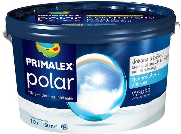 Malba interiérová PRIMALEX Polar bílá, 15 kg