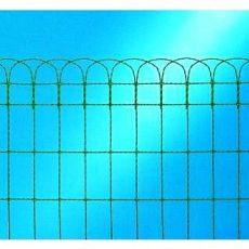 Dekorační pletivo výška 250 mm délka 25 m pozinkované s PVC vrstvou