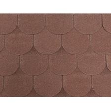 Šindel asfaltový Tegola ECO roof traditional hnědý 3,05 m2