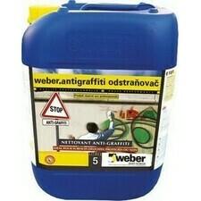 Odstraňovač grafitti weber antigraffiti 5 l