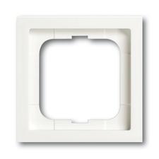 Rámeček jednonásobný Future linear, mechová bílá