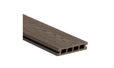 Prkno terasové dřevoplastové WPC PERI 3D duté odstín chocolate 136×25×2900 mm