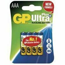Baterie LR03 AAA GP Ultra Plus 4 ks/bal