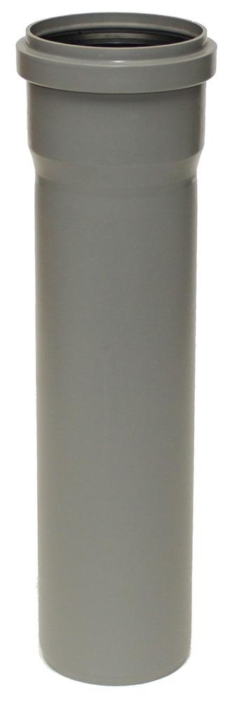 Plastová odpadní trubka HTEM DN 110, délka 1500 mm