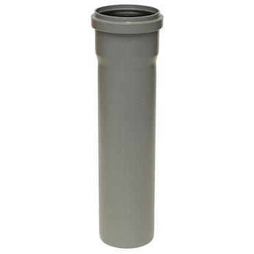 Plastová odpadní trubka HTEM DN 100, délka 1500 mm