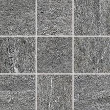 Dlažba Rako QUARZIT 10×10 cm tmavě šedé DAR12738