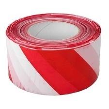 Páska výstražná 70 mm/500m červeno-bílá