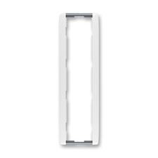 Rámeček čtyřnásobný svislý Element bílá / ledová šedá