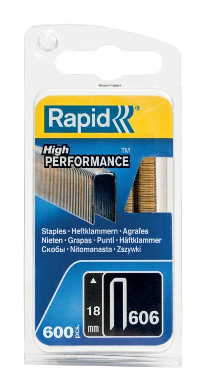 Spony Rapid High Performance 606 18 mm 600 ks