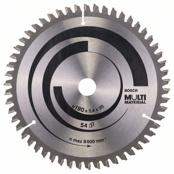 Kotouč pilový Bosch Multi Material 190×20/16×1,8 mm 54 z.