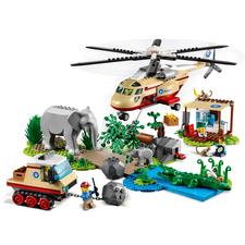 LEGO® CITY Záchranná operace v divočině