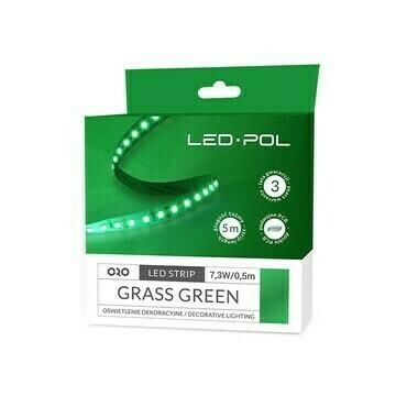 LED pásek Led-Pol zelená 14,6 W/m
