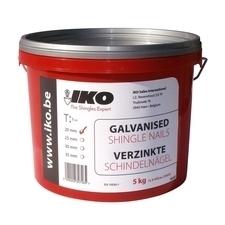 Hřebíky galvanizované IKO 25 mm 5 kg
