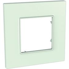 Rámeček jednonásobný, Unica Quadro, green