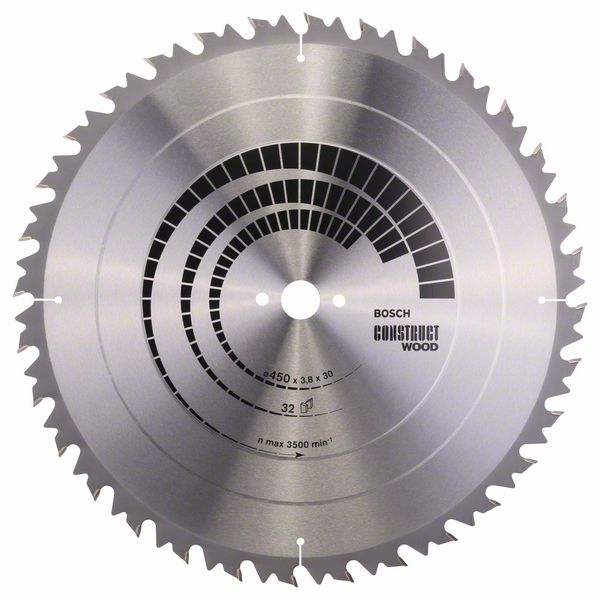 Kotouč pilový Bosch Construct Wood 450×30×2,8 mm 32 z.