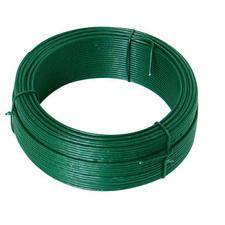 Napínací drát průměr 3,4 mm délka 26 m s PVC vrstvou