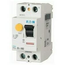 Chránič proudový Eaton PF6-25/2/003 6 kA 2pól 25 A