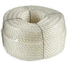 Lano silonové 10mmx50m bílé - 151051