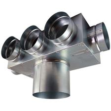 Box rozdělovací 1+3+1 Regulus 75×125 mm