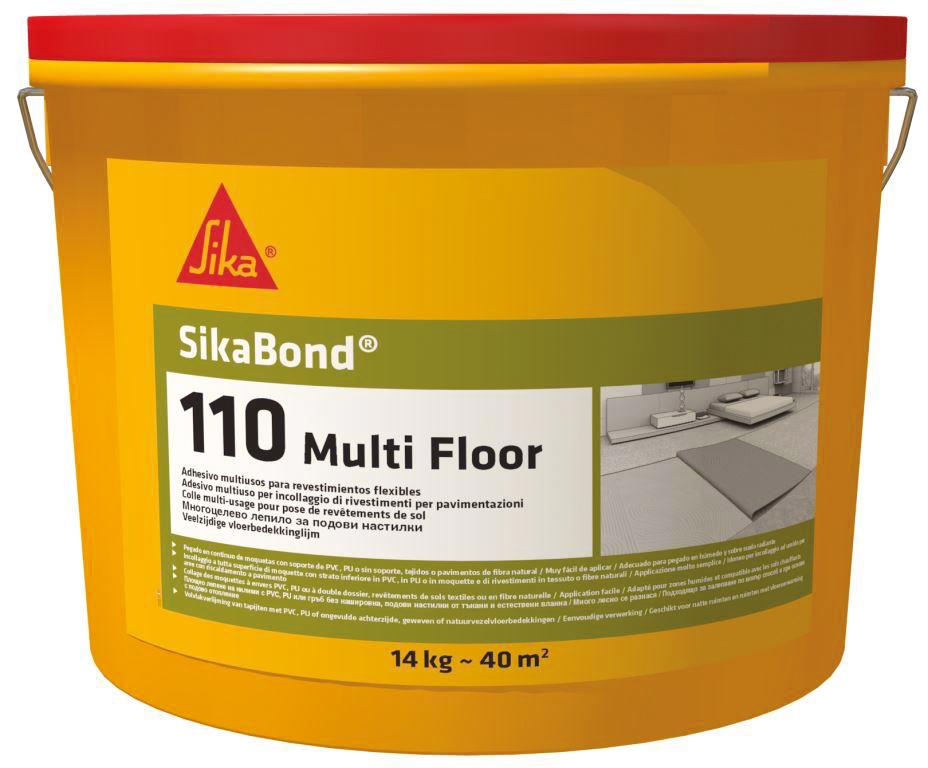 Lepidlo na podlahy Sikabond-110 Multi Floor 14 kg