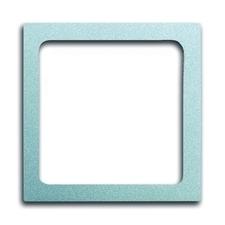 Kryt přístroje osvětlení Future linear hliníková stříbrná