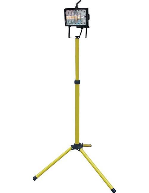 Reflektor halogenový 500 W na stojanu, R6501-CR