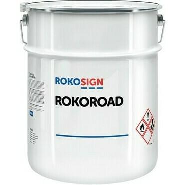 Barva na vodorovné značení Roko RK320 Rokoroad bílá, 5 kg
