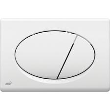 Ovládací tlačítko Alcaplast M70, bílé