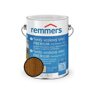 Olej tvrdý voskový Remmers Premium 1362 nussbaum 2,5 l