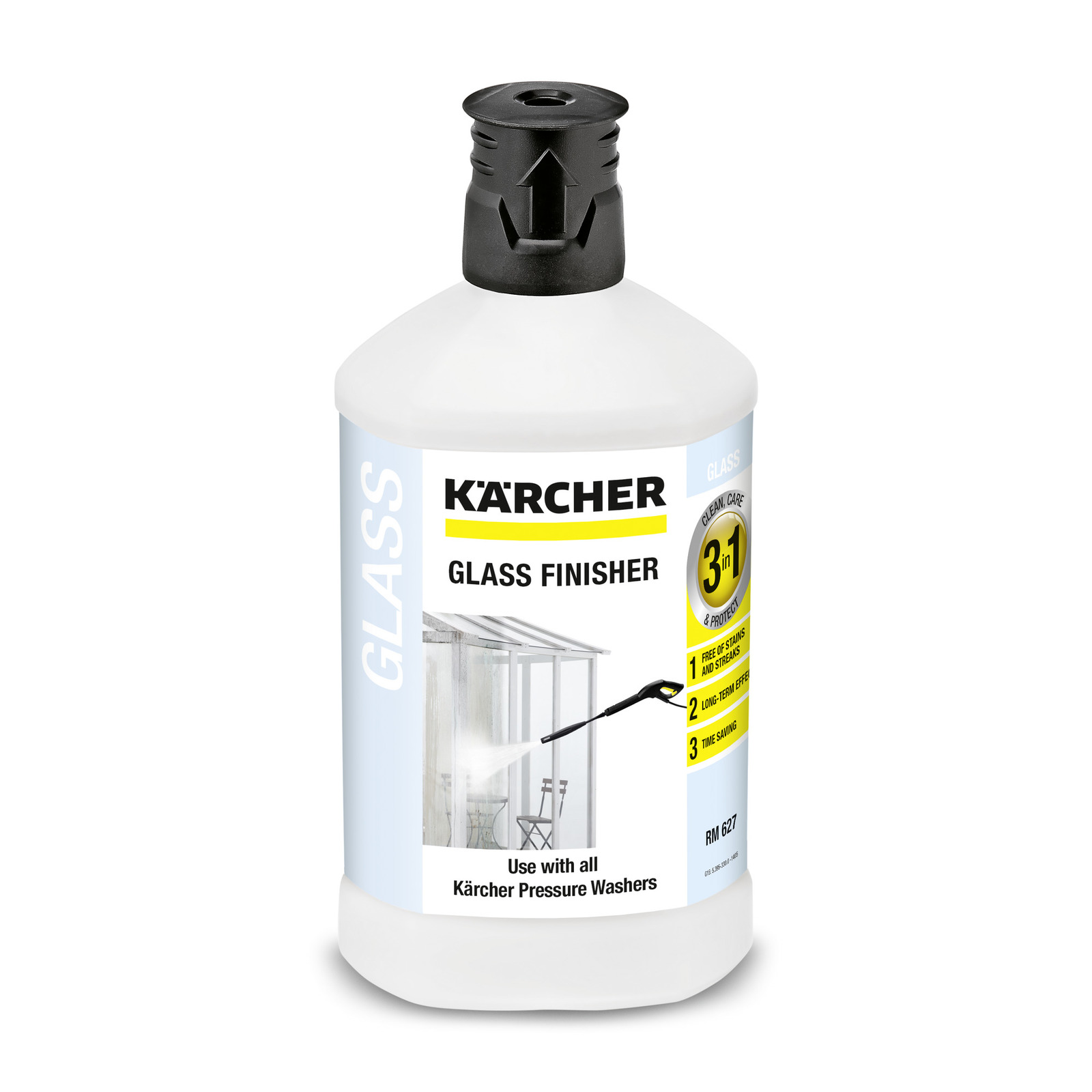 Čistič skel Kärcher 3v1 (K 2–7) 1 l