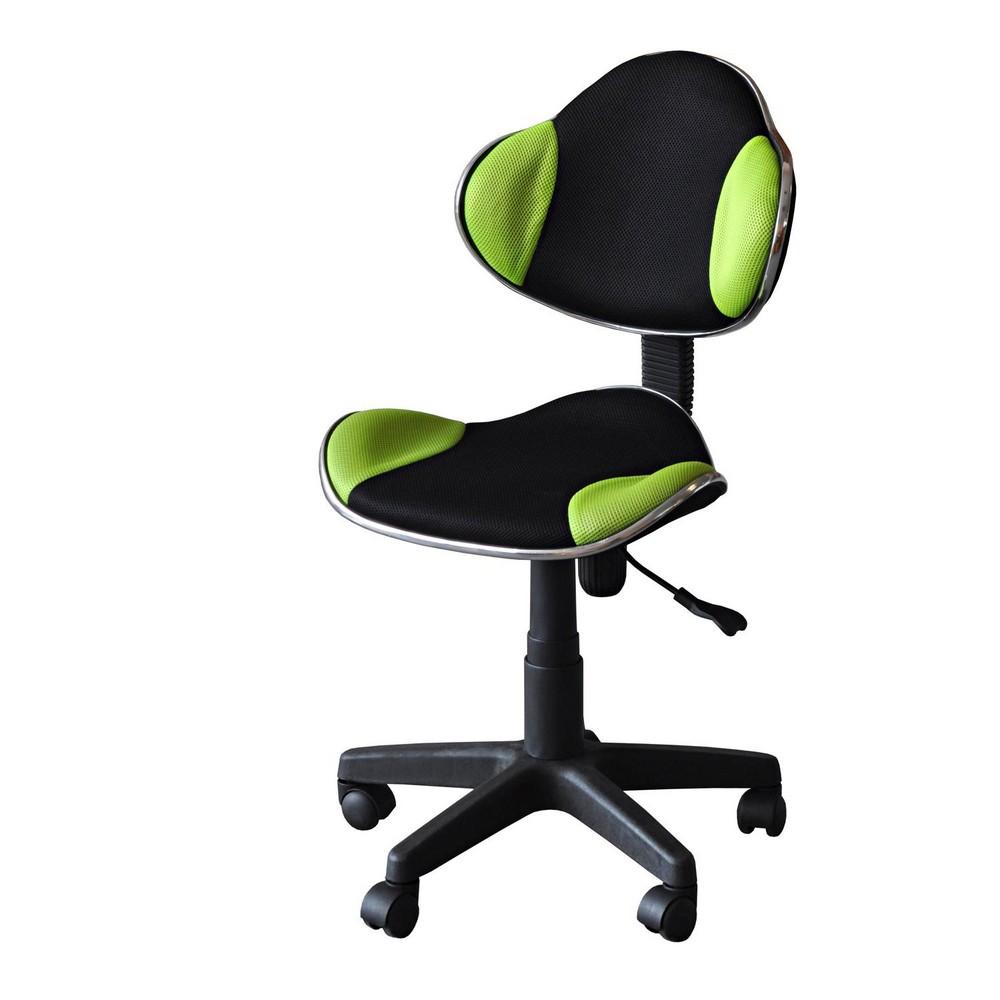 Kancelářská židle JAMES zelená, cena za ks