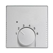 Kryt termostatu Future linear hliníková stříbrná